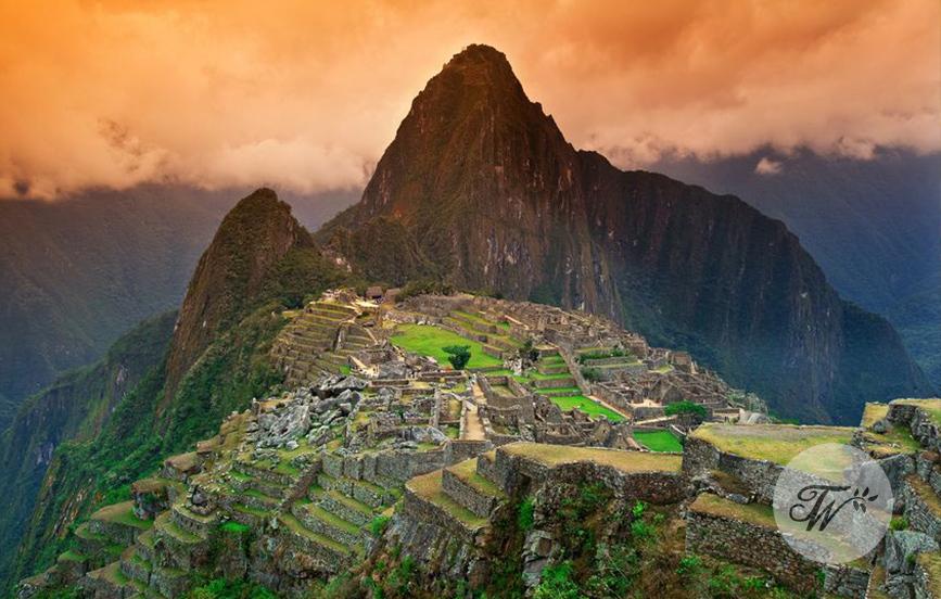 Machu Picchu Tourist Wedding