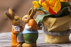 Easter-bunny-tourist wedding - wedding tourism